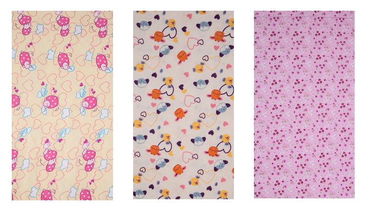 Baumwolle flanell stoff für baby und männer der hemd 2018