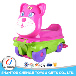 2018 wholesale kids animal ride on car plastic outdoor baby walker