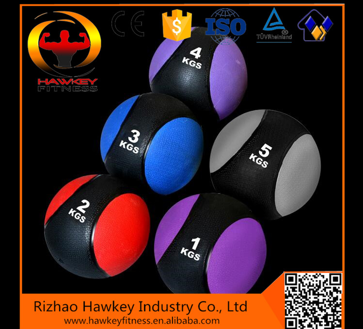 Gym Fitness Equipment Crossfit Rubber Medicine Ball trade assurance