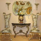 Antique maison meubles console table et chaise