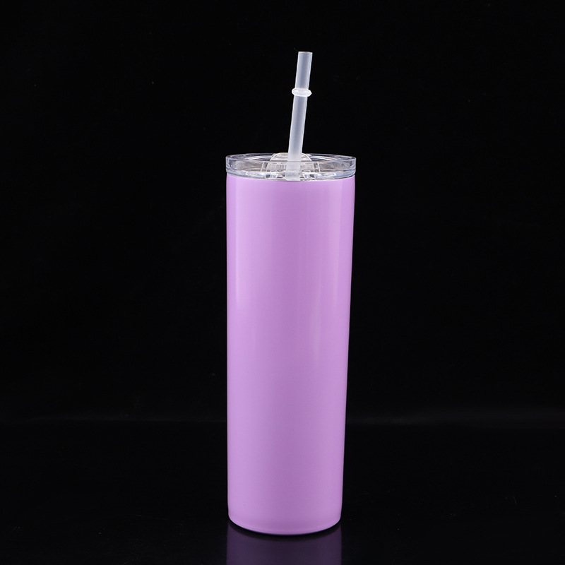 20oz Skinny Tumbler 304 Stainless Steel Double Wall High Quality Metal Skinny Tumbler