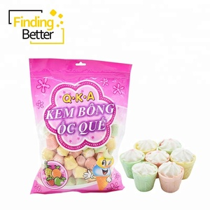 3.5g Fruit Jelly Filled Candy Marshmallow Mini Cakes Cotton Candy Halal Marshmallows Brands