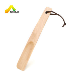 ACHINO 10 Inches Cute Wooden Shoe Horn