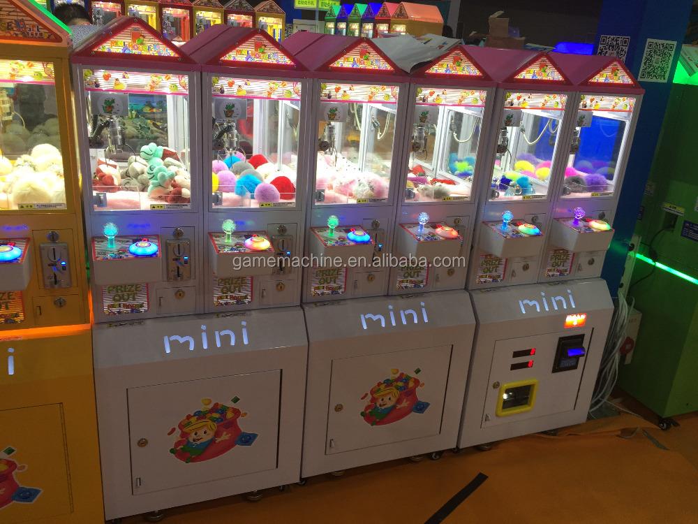 Mini toy crane claw prize machine to catch gift games