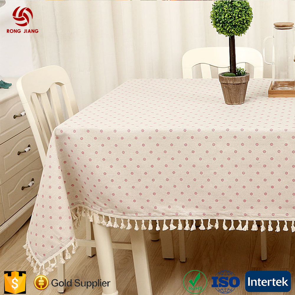 wholesale cloth linen tablecloths simple style of modern table cloth