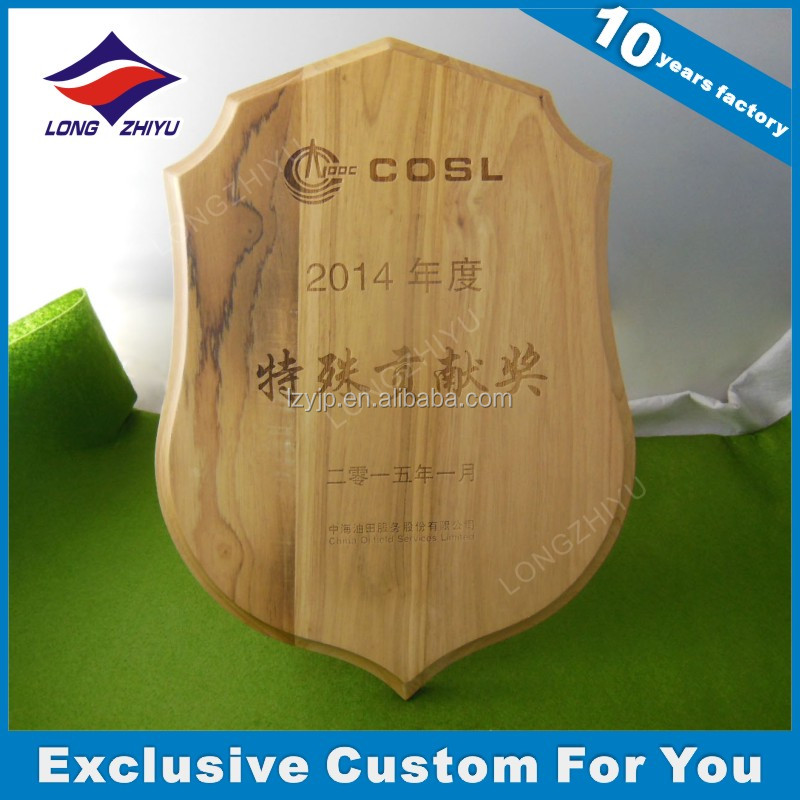 Laser engraving scroll personalized wood plaque