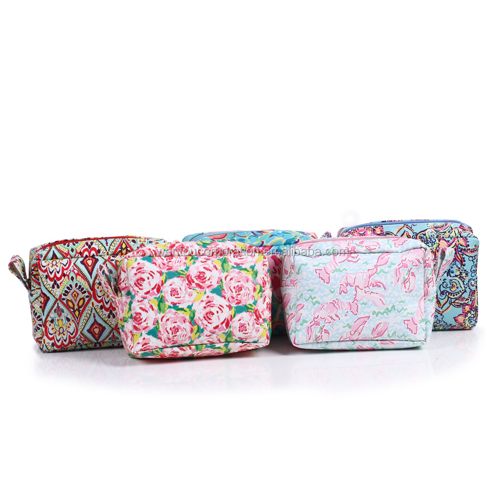 Personalized Monogrammed Lilly Cosmetic Bag