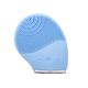 Silicone Face Skin Cleaner Brush Vibrate Massager Scrubber Sonic Facial Cleaning