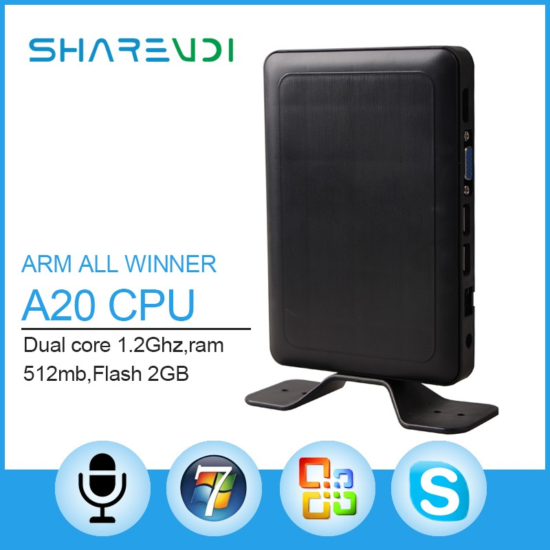 Sharevdi Vmware cloud computing THIN CLIENT A7 All winner A20 dual core X6 with RDP protocol on sale.