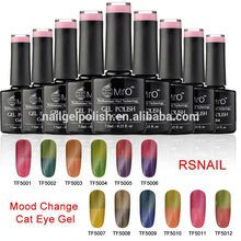 Fashional Magic Colors chameleon magic change colors polish gel 600 color UV gel polish for nail art MSDS