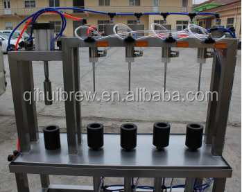 Manual Beer Bottle Filling Machine for brewery