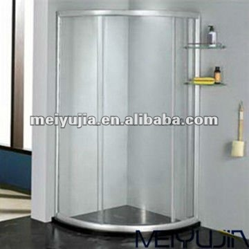6MM economic tempered glass shower room cabin with sliding doors