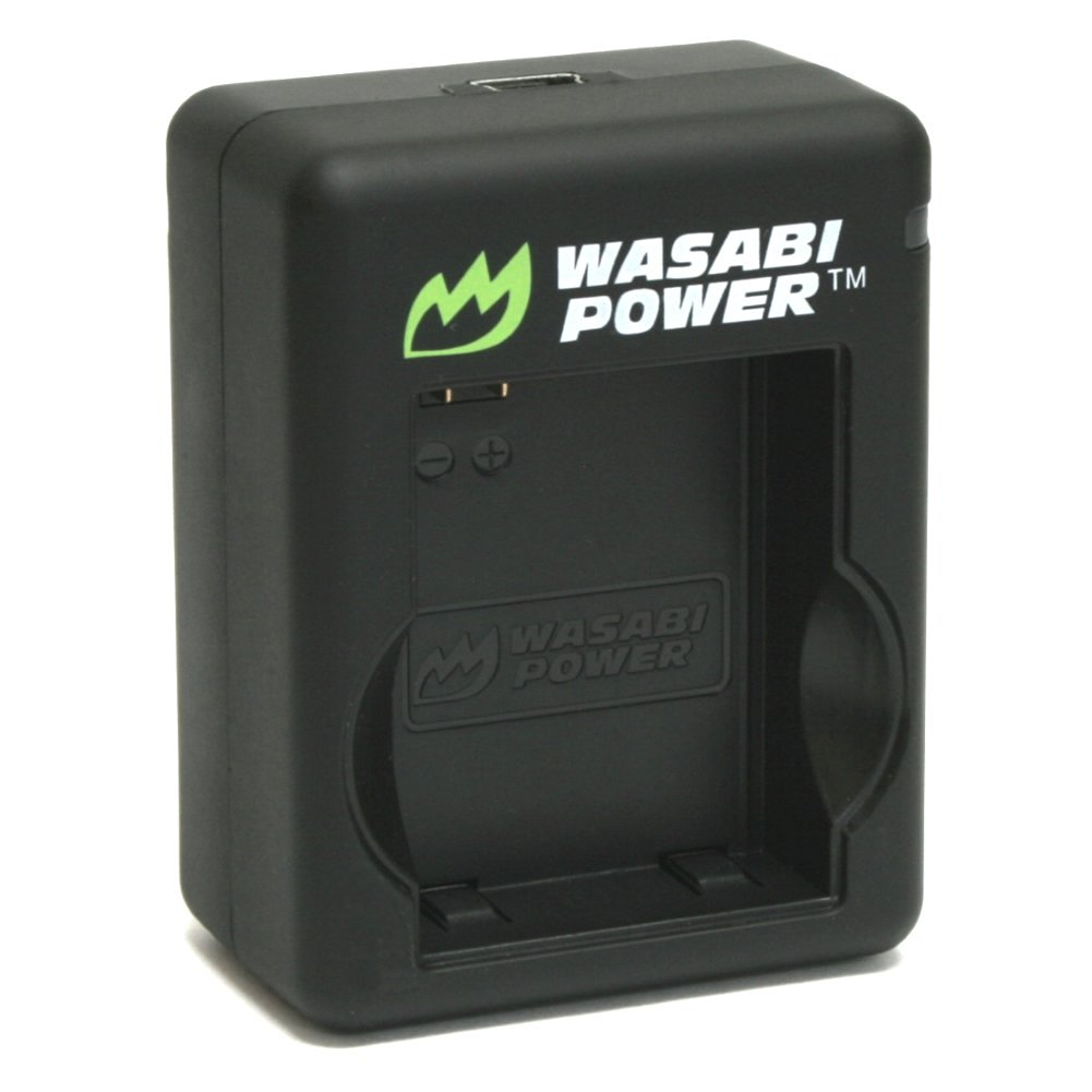 Wasabi Power Dual Battery Charger for GoPro HERO3, HERO3+ and GoPro AHBBP-301, AHDBT-301, AHDBT-302