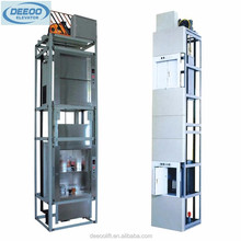Hot sale food lift dumbwaiter elevator with Gearless traction machine