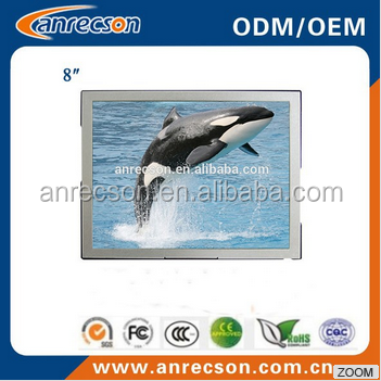 8 inch small touch screen monitor lcd digitizer monitor