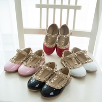 MS60879K 2016 fashion Princess design baby kids all brands shoes