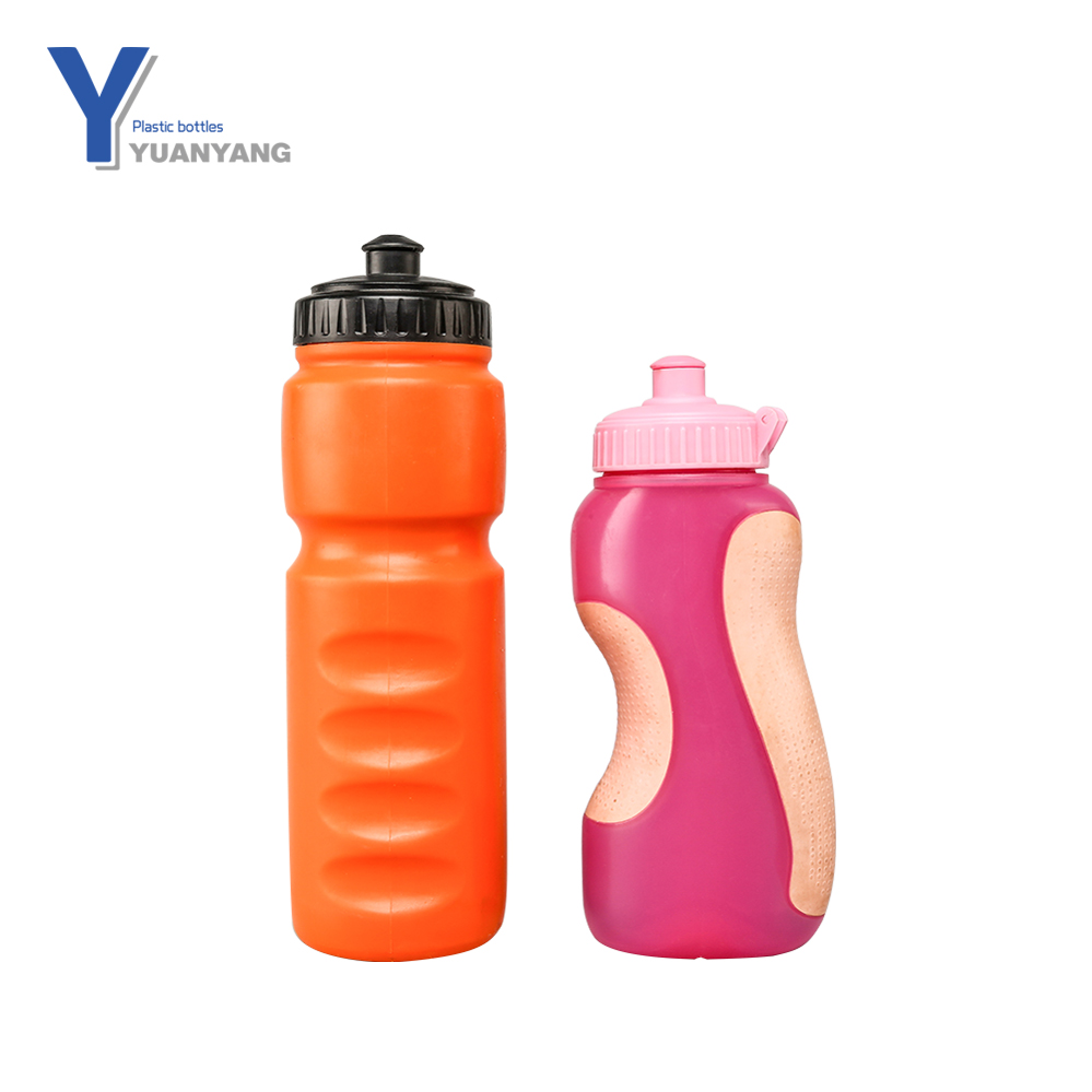 customised blank curve bpa free plastic sports water bottle