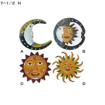 Soleil Et Lune En Métal Mur Art Décor Mural Buy Art Muralart