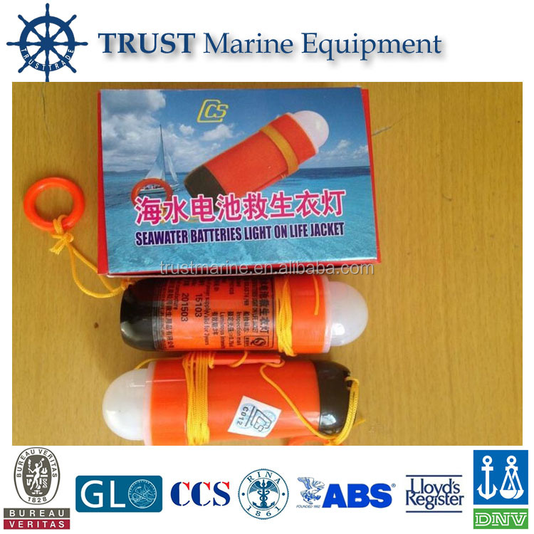 SOLAS approved marine safety sea water life jacket light, lifejacket light