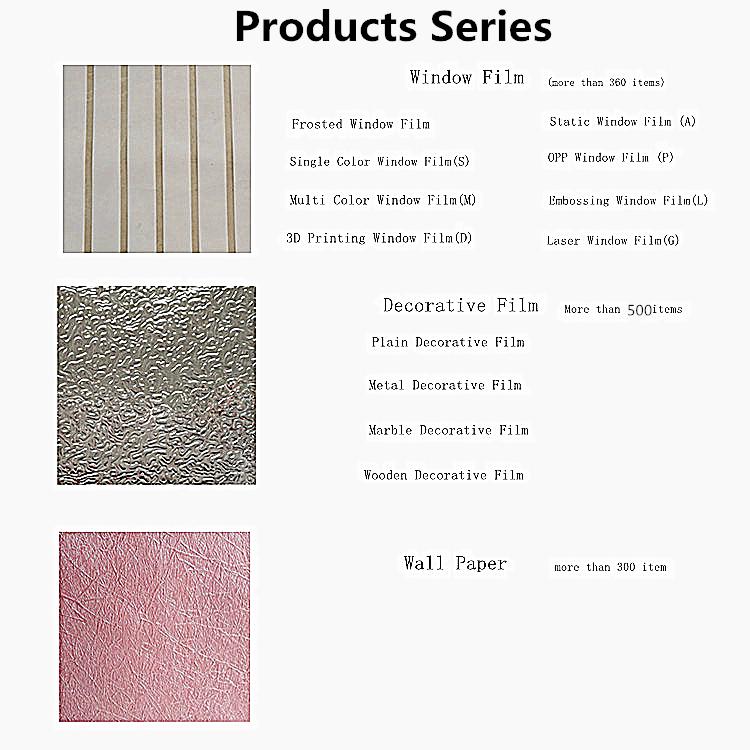 Wholesale Decorative  Waterproof PVC Wallpaper for wall