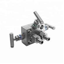 Untuk Air 6000psi 3 <span class=keywords><strong>Cara</strong></span> Stainless Steel Valve Manifold