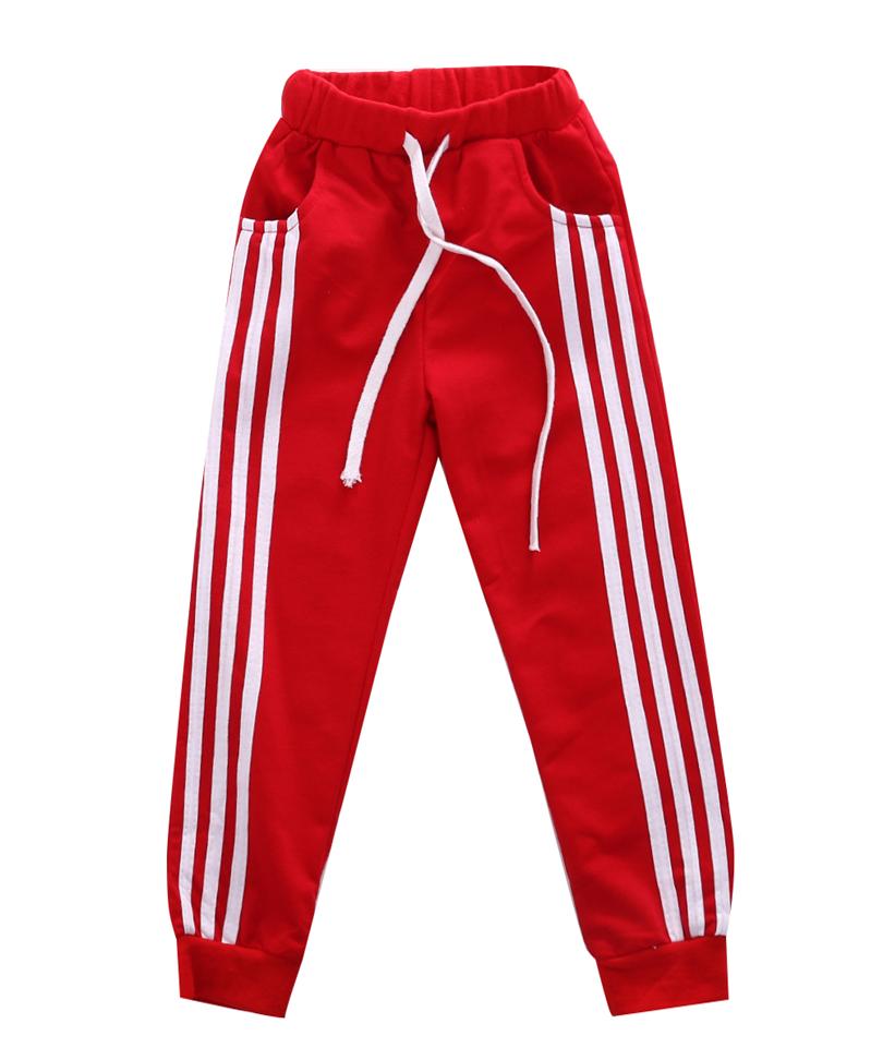 Retail 2016 New spring autumn cotton kids pants Boys Girls Casual Pants 4 Colors Kids Sports