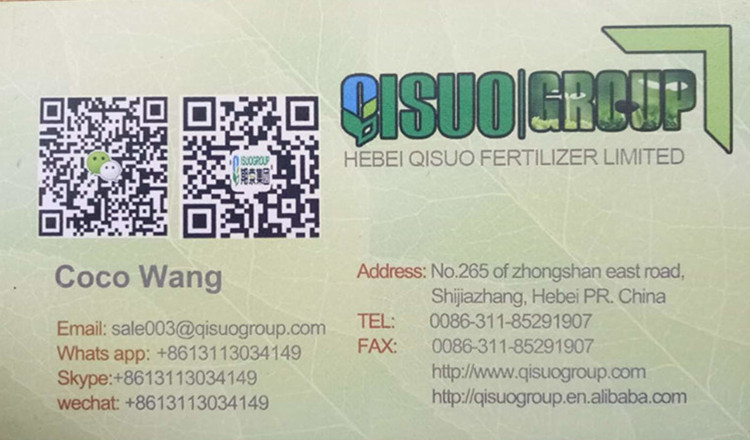 """QISUO"" 100% water soluble Humic Acid Amino Acid Npk Compound Organic Fertilizer"