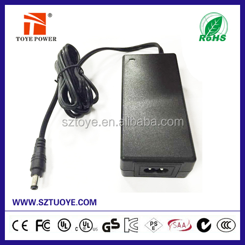 72W Universal power adapter 24v 3a power supply 24v ac adapter 3000ma