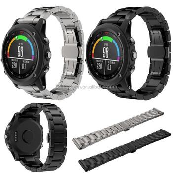 Goede Kwaliteit Titanium Staal Armband Polsband Smart Horloge Band