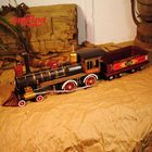 vintage metal train model of UNION PACIFIC9
