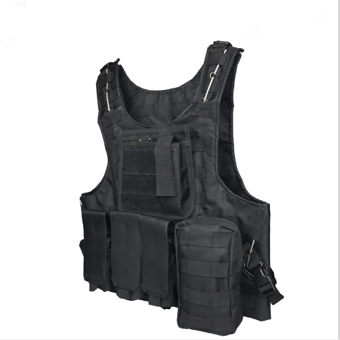 TV53 Military fans tactical vest  camouflage tactical  black eagle tactical   special service CS outdoor