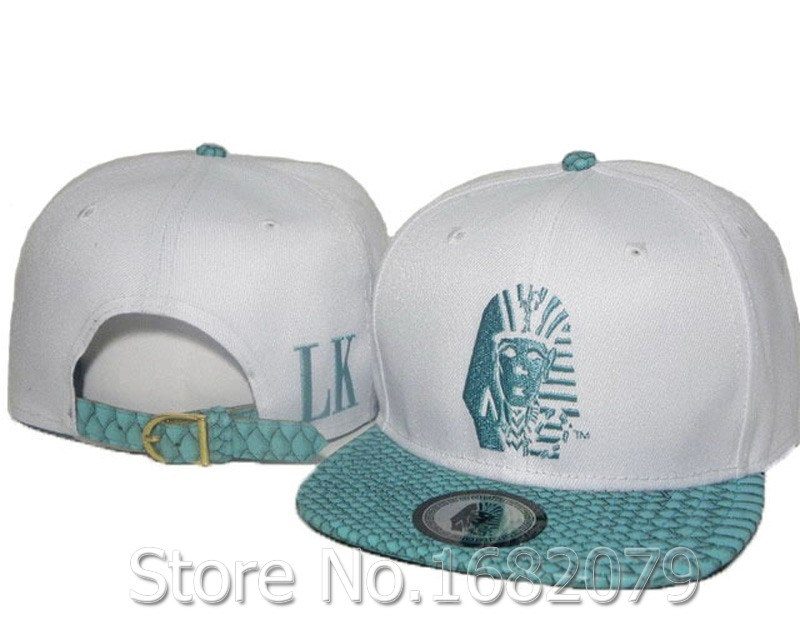 4628f49a5fc Buy Men  39 s adjustable fashion hip hop caps tyga LK snakeskin visor white last  kings strapback hats in Cheap Price on m.alibaba.com