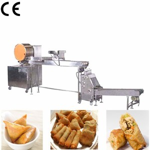 Best Selling Automatic Samosa Making Machine / Dumpling Making Machine / Spring Roll Machine