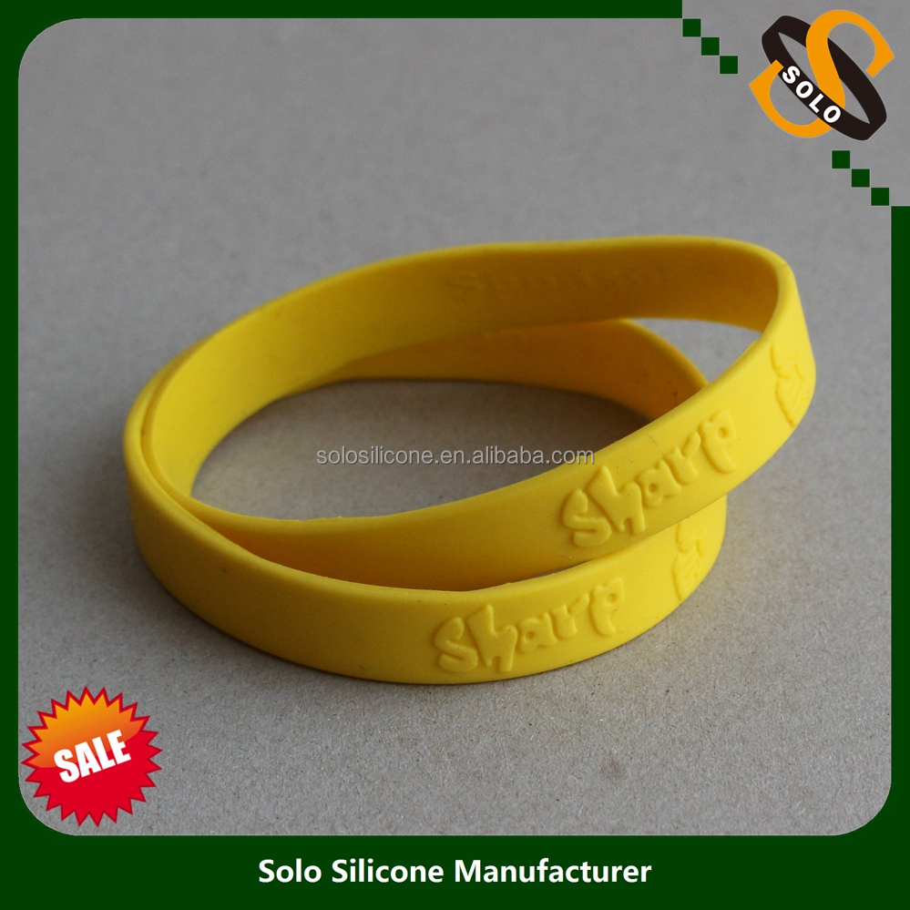 Hot Sale Advertising Promotion Custom Silicone Wristband 2017