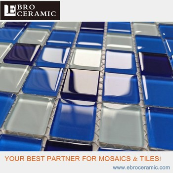 China Factory Ebro Ceramic Beautiful Crystal Glass Mosaics Swimming Pool  Tiles For Sale 300x300mm - Buy Tiles Glass Mosaic,Mosaic,Swimming Pool  Tiles ...