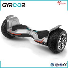 Best quality 2015 EU patent rechargeable battery 2 wheel hoverboard for electric scooter