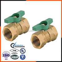 WCB valve body with bronze ball in high quality