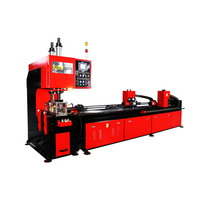 EMM60B double line heavy duty angle bar and long channel hole punching machine
