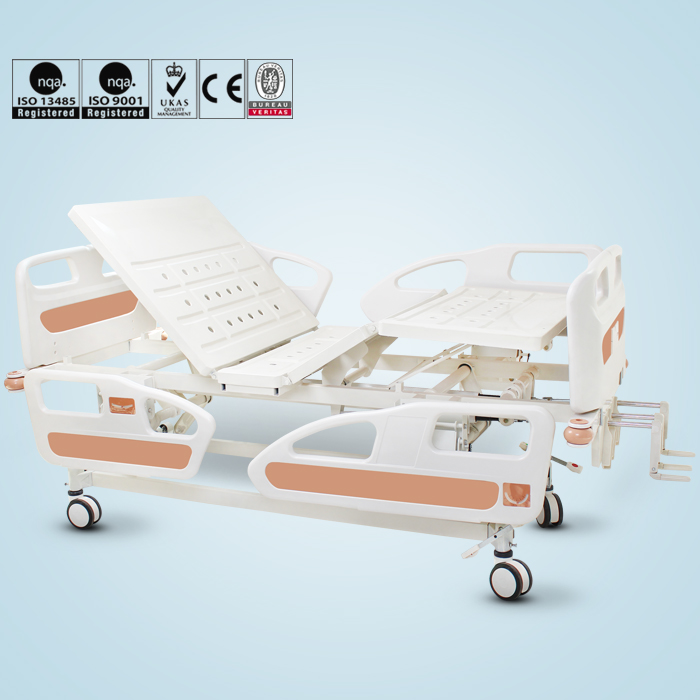 Disabled People used Medical hospital Bed with Toilet