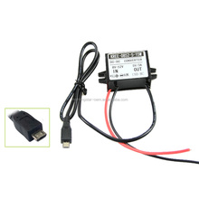High quality Car DC Converter 12V to 5V 3A USB to Auto Power Regulator Voltage Step Down Used For Car/Motorcycle