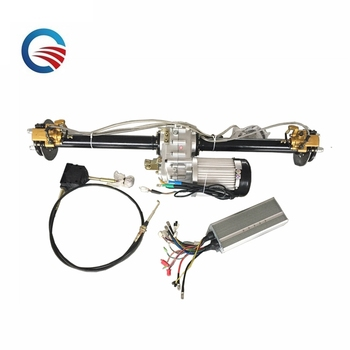 electric motor differential 3000w rear axle bridge kit for electric rickshaw
