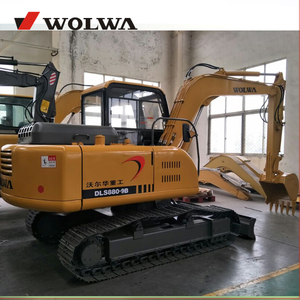 DLS880-9B 7T crawler excavator / road construction machinery equipment 15t rc hydraulic crawler excavator for sale