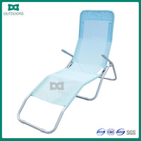 Teslin mesh folding beach lounger