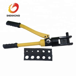 120KN Manual hydraulic crimping/pressing tools for 10-120mm2