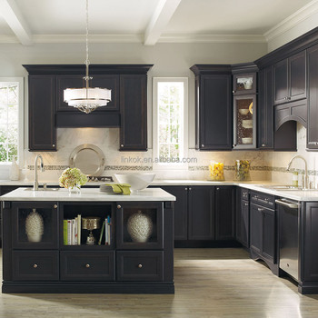 Hot Selling Solid Wood American Style Affordable Black
