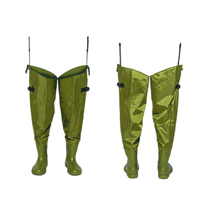 Fly Fishing Wader 70D Nylon Material Pvc Boot Breathable Waders