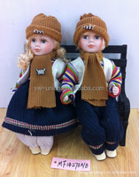 Brand New couple antique porcelain dolls with high quality