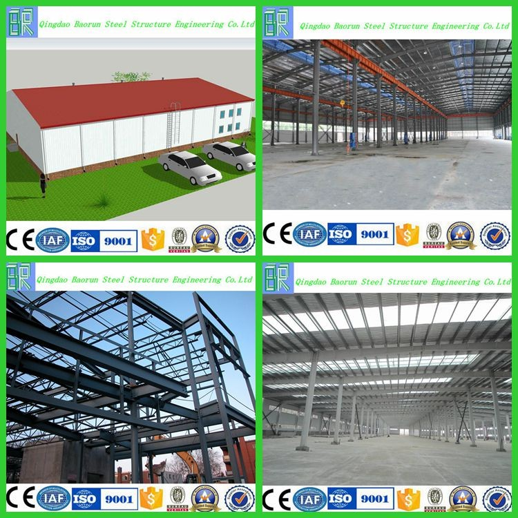 Prefabricated low cost industrial shed designs