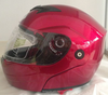 classic motorcycle cheap full face flip up helmet with double visor casco