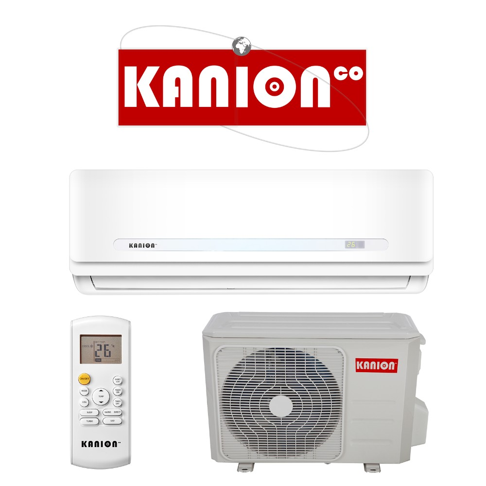 KANION heat pump 1 ton ac R410a 12000BTU mini spit <strong>air</strong> <strong>conditioner</strong>